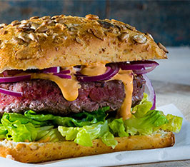 Authentic Beef Burger